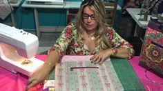 Aula 1 como fazer bolsa bag romântica by Adriana Dourado