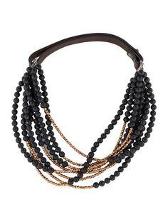 Brunello Cucinelli Multistrand Bead Necklace