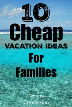 Check out 10 Cheap Vacation Ideas For Families to stay in budget this year while having a great family vacation experience! vacation 10 Cheap Vacation Ideas For Families on a Budget Cheap Family Vacations, Family Vacation Destinations, Vacation Trips, Travel Destinations, Vacation Travel, Best Family Vacation Spots, Vacation Shirts, Vacation Ideas For Families, Family Summer Vacation Ideas