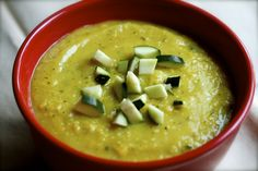 Alkaline Diet Recipe #103: Courgette and Split Pea Soup by ROSS BRIDGEFORD This courgette and split pea soup, which is highly nutritious and...