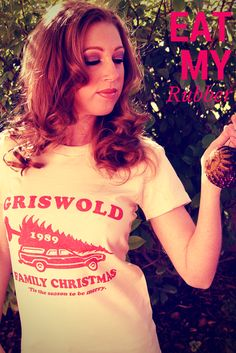 Burn some dust and eat rubber with this Griswold Family Christmas tee.   #christmas