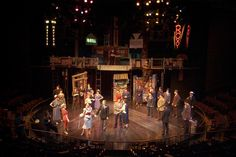 Guys and Dolls. Pacific Conservatory for the Performing Arts. Scenic design by Christopher Sousa-Wynn. 2005