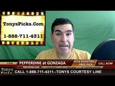 Pepperdine Waves vs. Gonzaga Bulldogs Tide Pick Prediction College Baske...