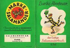 Salamander Lurchi Bücher (cover)
