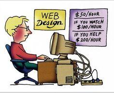 Funny Web Designing Cost Info ;)  83oranges.com