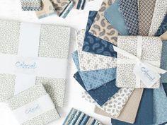 Colonial Manor Wedgewood Precut Fabric