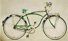 1959 Schwinn Corvette Bicycle. A Classic Middleweight Bike From The Late 1950's. Made In America!