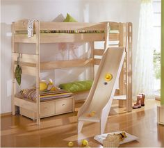 Childrens loft beds with slide   Reference Your Home