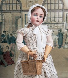 German Bisque Child, 171, by Kestner