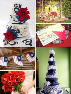 4th july wedding cakes - Google Search