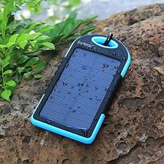 Solar Charger 5000mAh Innoo Tech Solar Power Bank Dual USB Port Portable Charger,Solar Battery Charger for iPhone,iPad,Cell Phone,Tablet,Camera,Waterproof,Dust-Proof and Shock-Resistant Innoo Tech http://www.amazon.co.uk/dp/B01AJTTELC/ref=cm_sw_r_pi_dp_kWvaxb1G8PB8M
