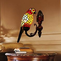 Pablo The Parrot Wall Sconce