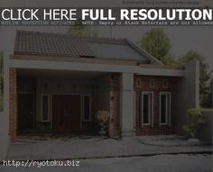 1351 desain pagar minimalis desain rumah minimalis type 36 sederhan dan modern 3