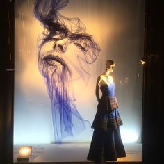 """BERGDORF GOODMAN, 5th Avenue, New York, """" The Tull Project"""", creative by Benjamin Shine Studio, photo by Sam Theis, pinned by Ton van der Veer"""