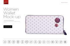 Women Wallet Mock-up by mesmeriseme.pro on @creativemarket