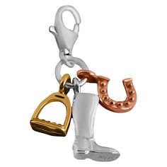 Thomas Sabo Riding Boot Charm, Sterling Silver ** Wow! I love this. Check it out now! : Jewelry