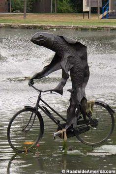 """A women needs a man like a fish needs a bicycle""-Attributed to Asistralian Irina Dunn via feminist Gloria Steinem"