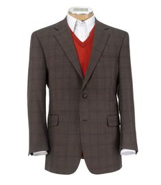 Executive 2-Button Wool Sportcoat Big and Tall CLEARANCE