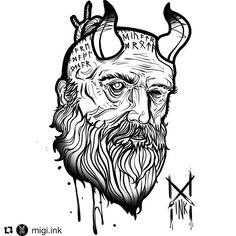 Tree Tattoo Designs, Tattoo Ideas, Head Tattoos, Tatoos, God Of War Game, War Tattoo, New Gods, Norse Mythology, Studio S