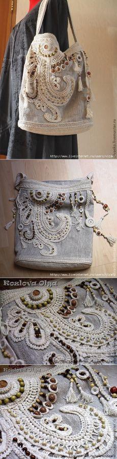 Летняя сумка в стиле бохо