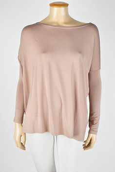 PIKO Long Sleeve Blouse. Light Brown. Available in S/M/L. $20