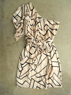 Geometric Angles Dress-Deloom. OMG I HAVE TO HAVE THIS