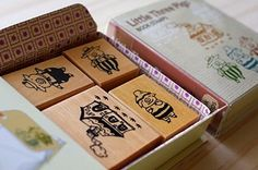 STAMPARADISE: Japanese rubber stamps