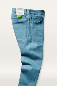 Marc Newson 5-Pocket Slim Jeans