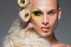 This is a Half-Drag shot of Miss Fame by Laland Bobb