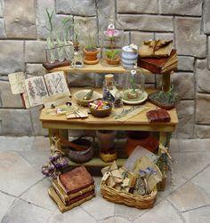 Miniature Herb Bench.. By Ericka VanHorn www.erickav.com