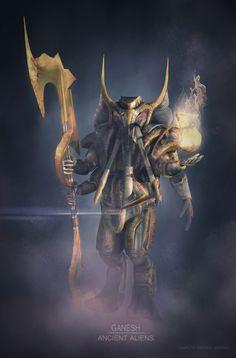 http://carlosandresoc.cgsociety.org/art/character-zbrush-design-photoshop-modeling-concept-art-hindu-god-warrior-ganesh-mythology-gods-ancient-aliens-sci-fi-3d-1249913