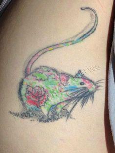 Rat tattoo