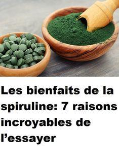 Les bienfaits de la spiruline: 7 raisons incroyables de l'essayer Cantaloupe, Serving Bowls, Beans, Nutrition, Fruit, Vegetables, Health, Food, Tech