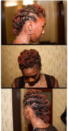 Loc swirl up do
