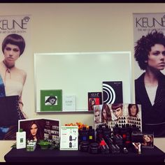 Intro to #Keune color class at our Torrance headquarters