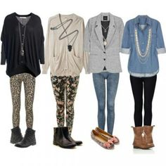 Leggins outfits...