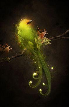 """""""Night Light"""" art by ~Owhl  Digital Art / Photomanipulation / Fantasy"""