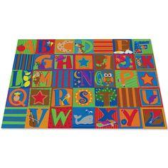 Kid Carpet Letter Seating Kids Rug
