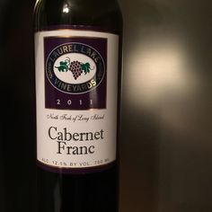 After a tough day at work doing important advertising things (har har) and shoveling snow I'm settling back with Tina to enjoy @laurel_lake_vineyards Cabernet franc. Cabernet franc is my favorite varietal specifically from the North Fork. It's as if the climate on the North Fork is perfectly suited for Cabernet franc. #liwine #wine #nofo #winery #vineyard #longislandwine #longisland