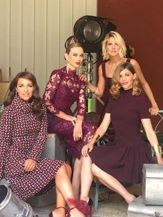 Preciosas las actrices de Velvet