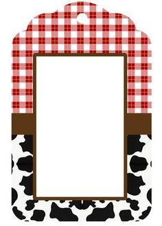 Baby Farm: Images, Frames and Free Party Printables. Farm Animal Party, Farm Animal Birthday, Barnyard Party, Cowboy Birthday, Farm Birthday, Farm Party, 2nd Birthday Parties, Barn Parties, Cowgirl Party
