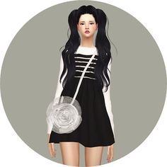 Sims 4 CC's - The Best: Rose Bag by Marigold
