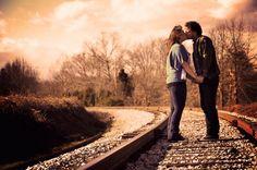Rustic North Carolina Engagement Session: Kelsey   Thomas