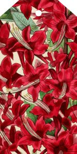 Christmas Flowers tag