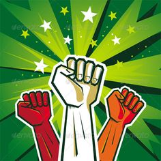 Very vibrant  GraphicRiver Revolution Poster Design 3533369