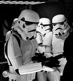 Stormtroopers...