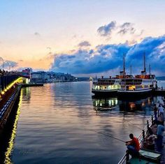 Ferry boats, Istanbul