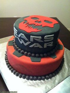 Gears Cake..sweeeeeeet...get it hahahahaha!!!! *ducks Jerry's Mystic you idiot slap*