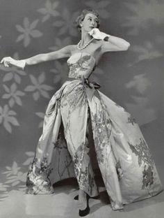 Jean Patou Evening Dress, 1955