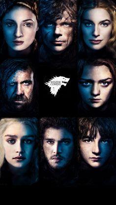 Game of Thrones iPhone 5 5S 5C wallpaper Wolf Stark Sansa Jon Tyrion Cersi Arya Hound Daenerys Bran winter is coming tylermade